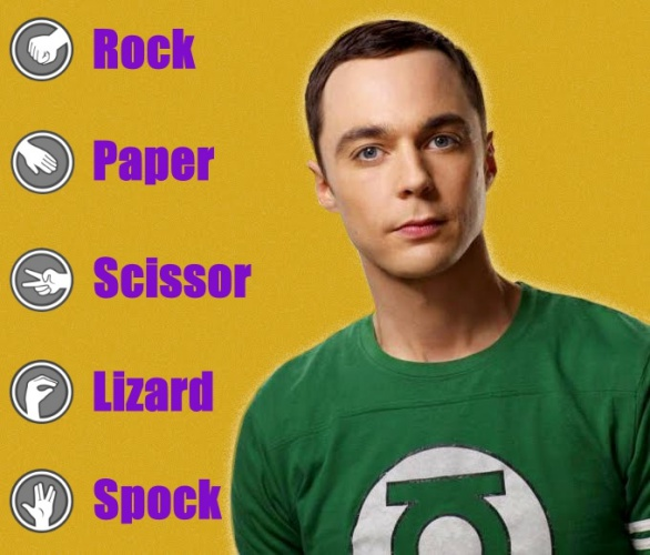 Rock, Paper, Scissor, Lizard, Spock Game